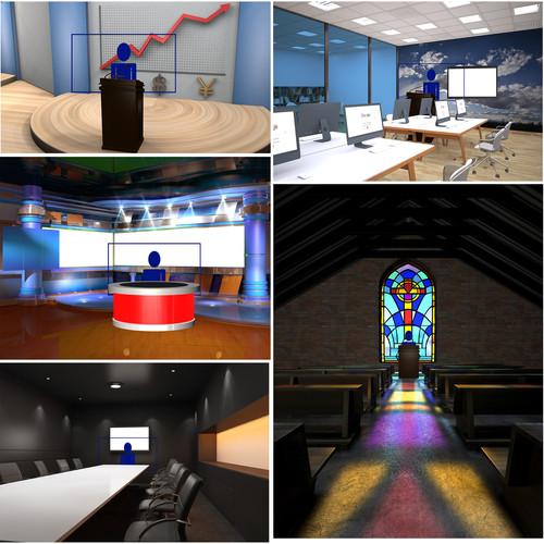 PTZOptics Complete Virtual Set Pack