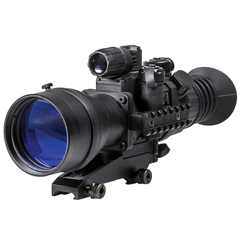 Pulsar 4x60 Phantom Gen 3 Night Vision Riflescope with Quick-Detach Mount (Mil-Dot Reticle)