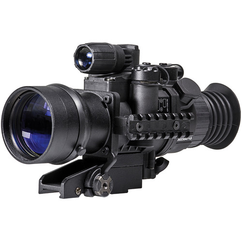 Pulsar 3x50 Phantom Gen 3 Autogated Night Vision Riflescope with Quick-Detach Mount (Mil-Dot Reticle)