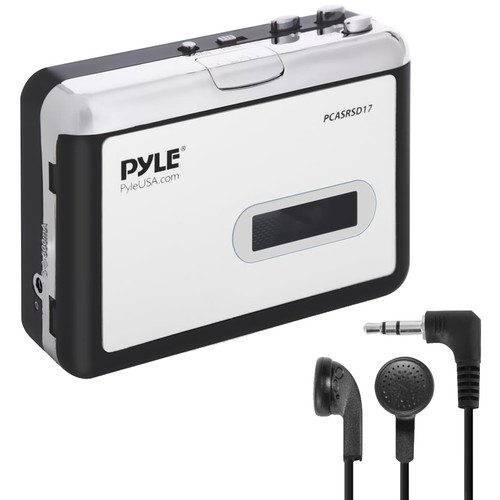 Pyle Home Portable Cassette Player and MP3 Converter Recorder
