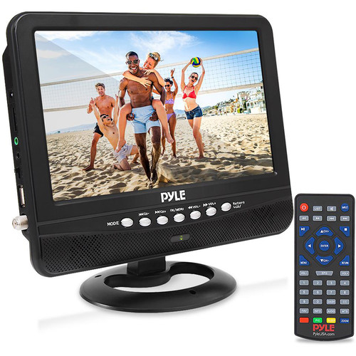"Pyle Home PLTV9553 9"" Class Portable LCD TV"