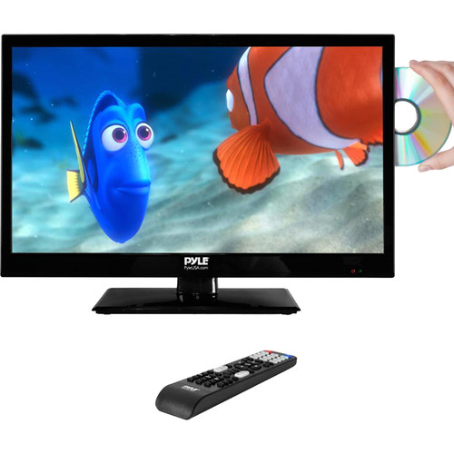 """Pyle Home PTVDLED22 22"""" Class Full HD LED TV with Built-In DVD Player"""