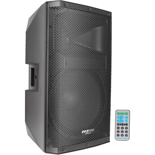 """Pyle Pro PADH15BTA Active 1400W 15"""" Stage and Studio PA Speaker System with Bluetooth"""