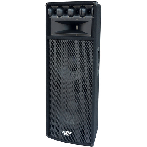 "Pyle Pro PADH212 2x12"" 1600W Passive Loudspeaker Cabinet"