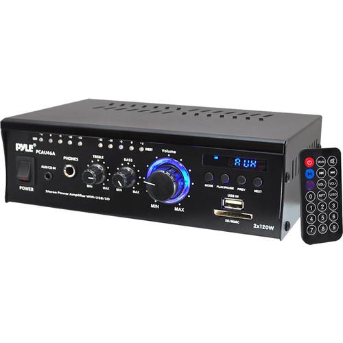 Pyle Pro PCAU46A 240W Stereo Power Amplifier