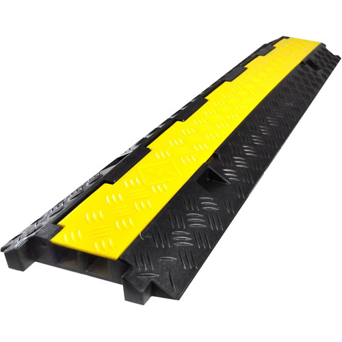 "Pyle Pro Protective Cable & Wire Concealment Ramp Track with Flip-Open Top Cover (9.8 x 39.6"")"