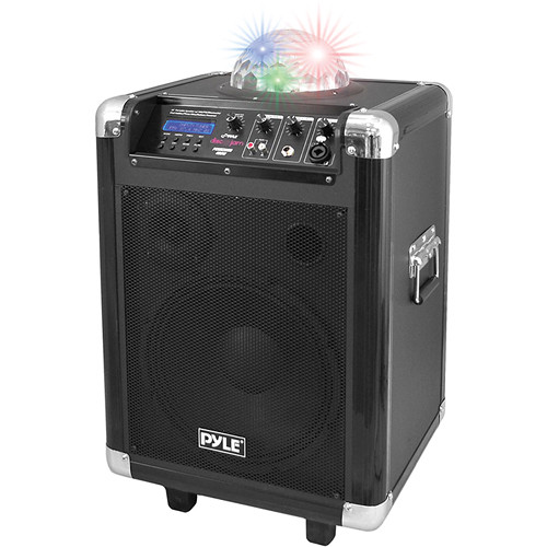 "Pyle Pro PCMX280B 10"" 400 Watt Disco Jam Portable PA Speaker"