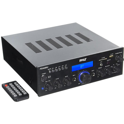 Pyle Pro PDA6BU Stereo Receiver with Bluetooth