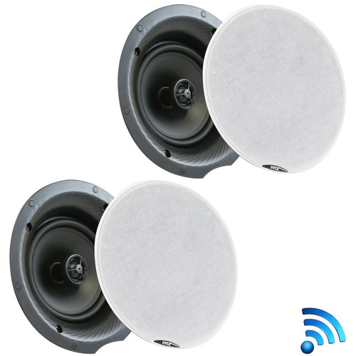 """Pyle Pro PDICBT57 5.25"""" Bluetooth Ceiling/Wall Speakers (Pair)"""