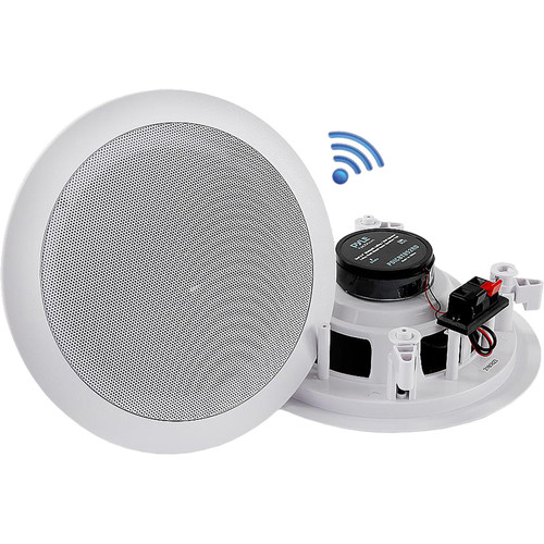 "Pyle Pro PDICBT852RD Dual 8.0"" Bluetooth Ceiling/Wall Speakers (Pair)"