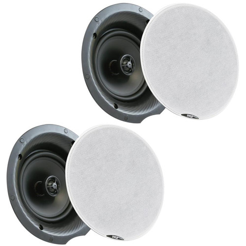 """Pyle Pro PDICBT87 8.0"""" Bluetooth Ceiling/Wall Speakers (Pair)"""