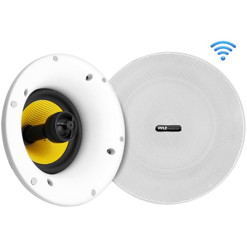 "Pyle Pro 5.25"" 240 Watt Peak In-Wall/Ceiling Speaker with BT Wireless for Streaming (Pair)"