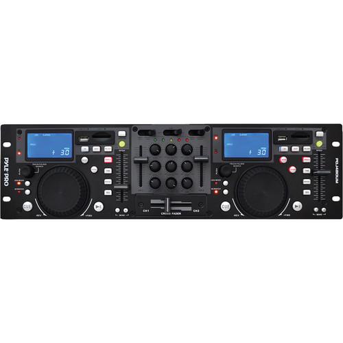 Pyle Pro PDJ480UM Rack Mount Professional Dual DJ Controller