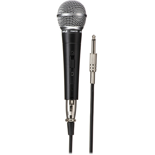 Pyle Pro Professional Dynamic Unidirectional Handheld Microphone