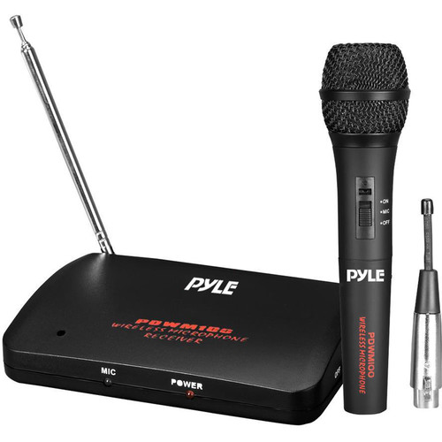 Pyle Pro PDWM100 Wireless/Wired Microphone System