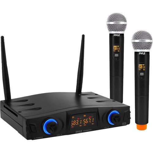 Pyle Pro PDWM2950 2-Person Wireless Handheld Microphone System