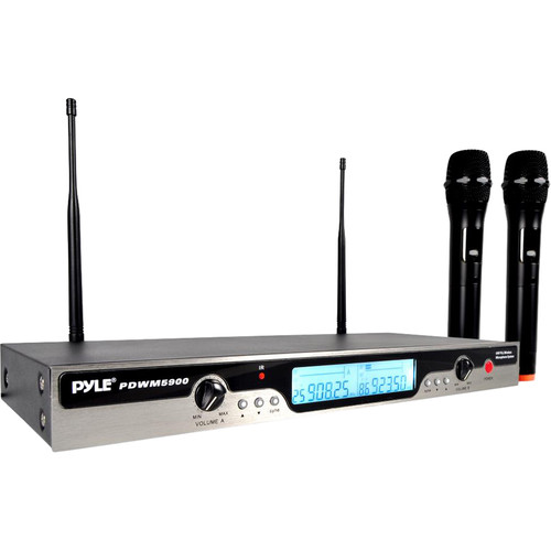 Pyle Pro Premier Series UHF Wireless Microphone System