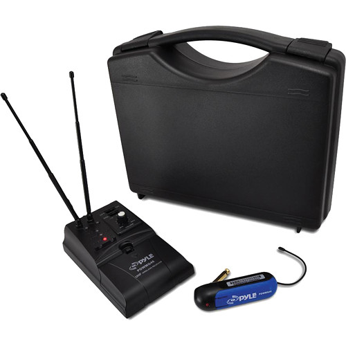 Pyle Pro Premier Series UHF Wireless Guitar/Instrument Bug Transmitter/Receiver System