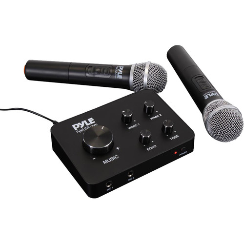 Pyle Pro PDWMKHRD22WM Home Theater Karaoke Wireless Microphone System