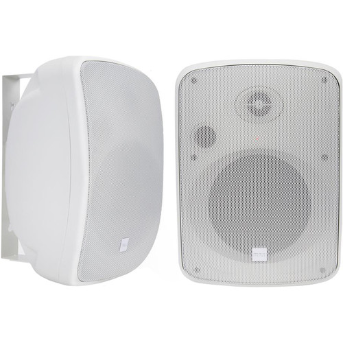 "Pyle Pro 6.5"" 1000 Watt Wall-Mount Marine Speakers with BT Audio RF Streaming (White) (Pair)"