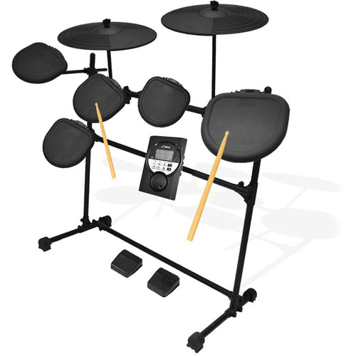Pyle Pro Digital Drum Set & Electronic 7-Pad Drum Machine System