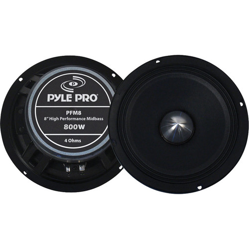Pyle Pro PFM8 8'' High Power High Performance Midbass