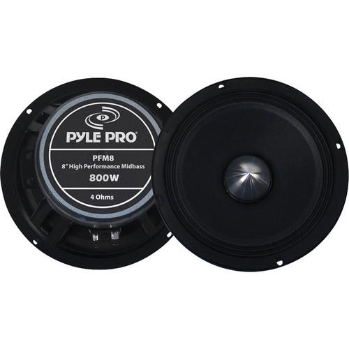 Pyle Pro PFM8 8'' High Power High Performance Midbass