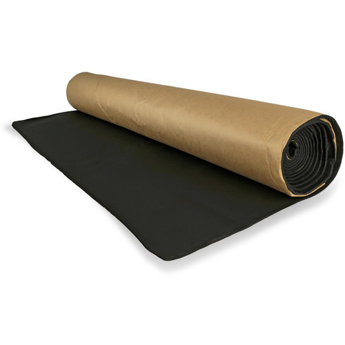 Pyle Pro Sound Dampener, Audio Isolation Noise-Reducing Material Roll (3.3 x 11.5')