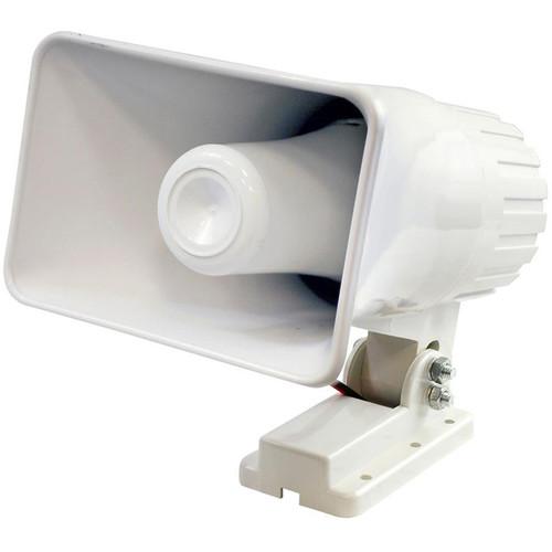 "Pyle Pro 6"" Indoor/Outdoor 50W PA Horn Speaker (White)"