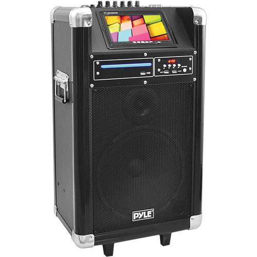 """Pyle Pro PKRK10 10"""" 400 Watt Karaoke Vibe Portable PA Speaker"""