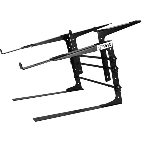 Pyle Pro Universal Dual-Device Laptop and Controller Stand