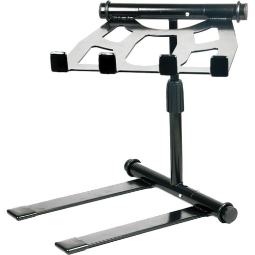 Pyle Pro PLPTS55 Universal Portable Foldable Professional DJ Laptop Stand with Telescopic Height Adjustment