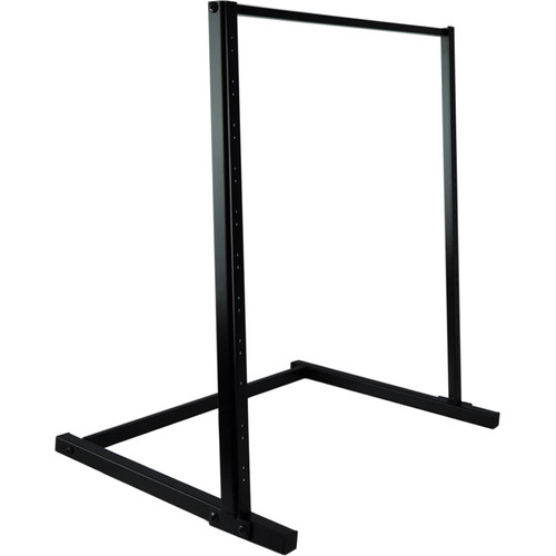 Pyle Pro PLRSTND10 Open Frame Equipment Rack (12 RU)