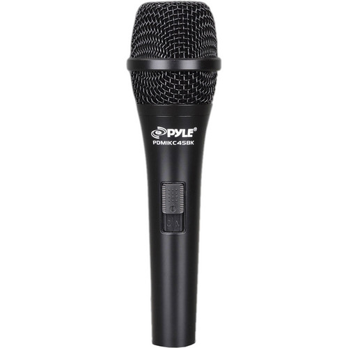 Pyle Pro PMIKC45BK Handheld Battery Powered Vocal Condenser Microphone