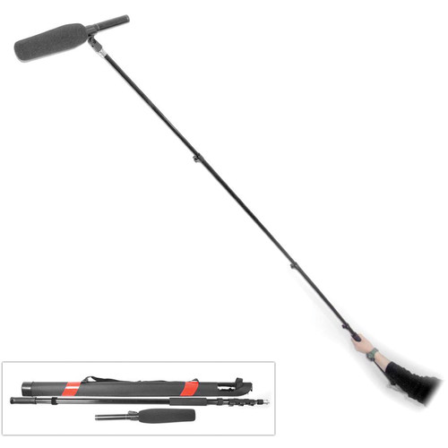 Pyle Pro PMKSB12 Fishing Boom Pole for Shotgun Microphone