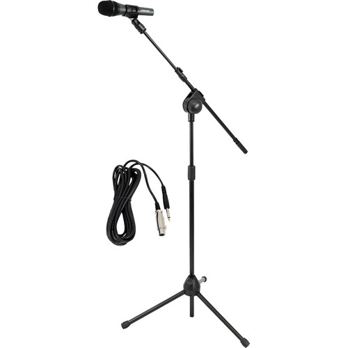Pyle Pro PMKSM20 Microphone, Cable, and Tripod Stand