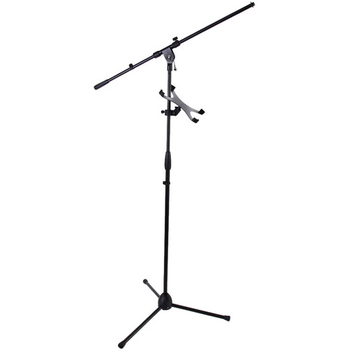 Pyle Pro Adjustable Multimedia Stand for iPad & Microphone