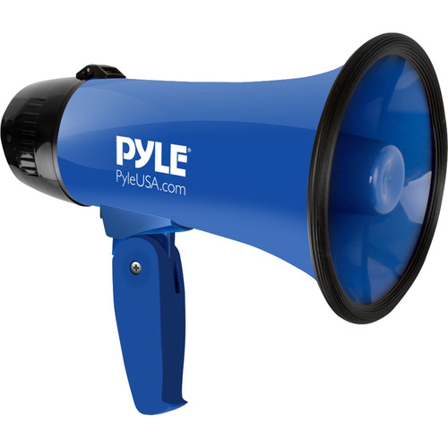 Pyle Pro PMP21BL 20W Megaphone with Siren (Blue)