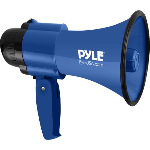 Pyle Pro PMP31BL 30W Megaphone with Siren (Blue)