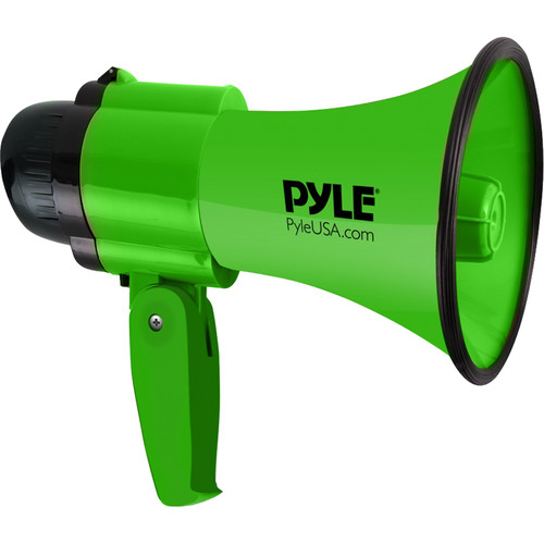Pyle Pro PMP32GR 30W Megaphone with Siren (Green)