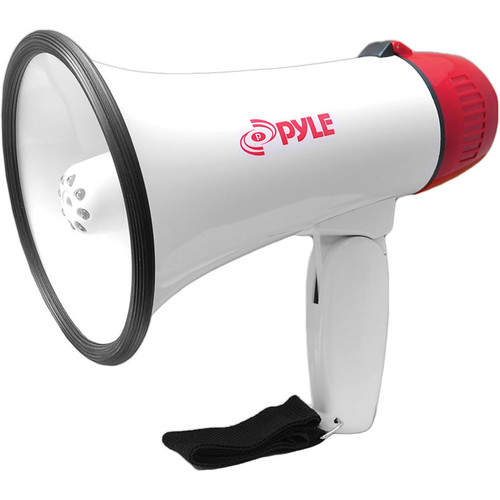 Pyle Pro PMP37LED Professional Megaphone / Bullhorn with Siren & LED Lights