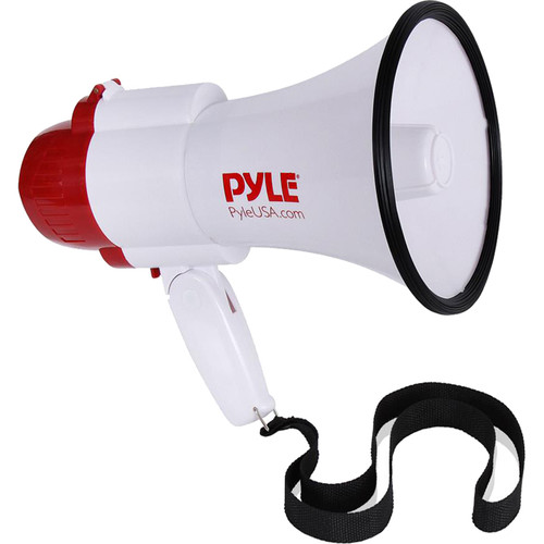 Pyle Pro PMP39VC 30W Megaphone with Siren and Voice-Changer