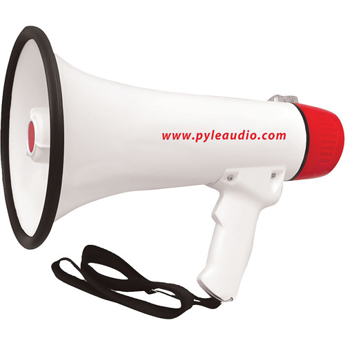 Pyle Pro PMP48IR 40W Professional Megaphone with Handheld Microphone and Recharge Battery