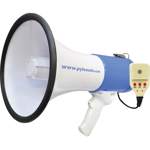 Pyle Pro PMP59IR 50W Megaphone/Bullhorn with Lithium Battery