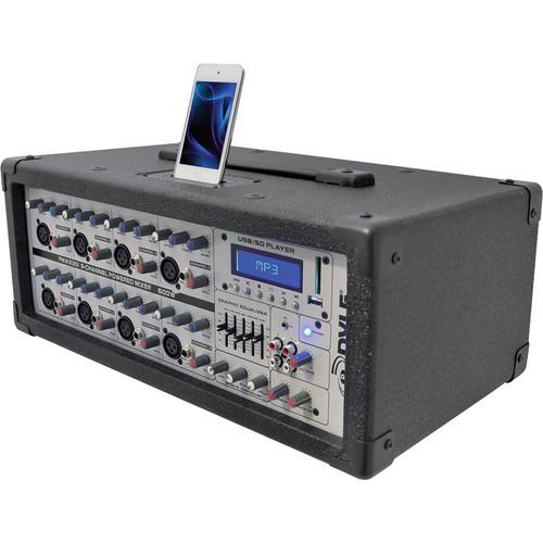 Pyle Pro PMX630I 6-Channel 600W Professional DJ Mixer