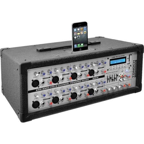 Pyle Pro PMX830I 8-Channel 800 Watt DJ Mixer