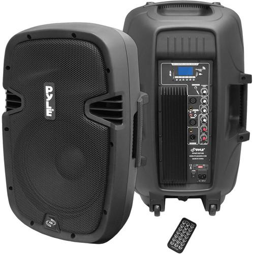 "Pyle Pro PPHP1237UB 12"" 900-Watt Powered 2-Way Speaker"