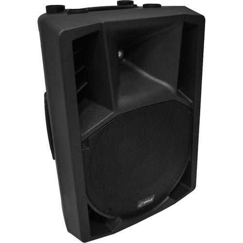 "Pyle Pro PPHP128AI 12"" 1,200-Watt Powered 2-Way PA Speaker"