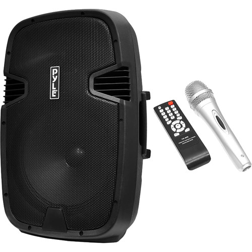 "Pyle Pro PPHP152BMU 15"" 2-Way Portable Rechargeable PA Loudspeaker System with Bluetooth (1000W)"