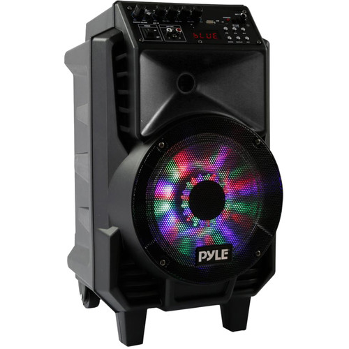 "Pyle Pro PPHP816WMU 8"" 2-Way 400W Portable Wireless and Bluetooth-Enabled PA System"